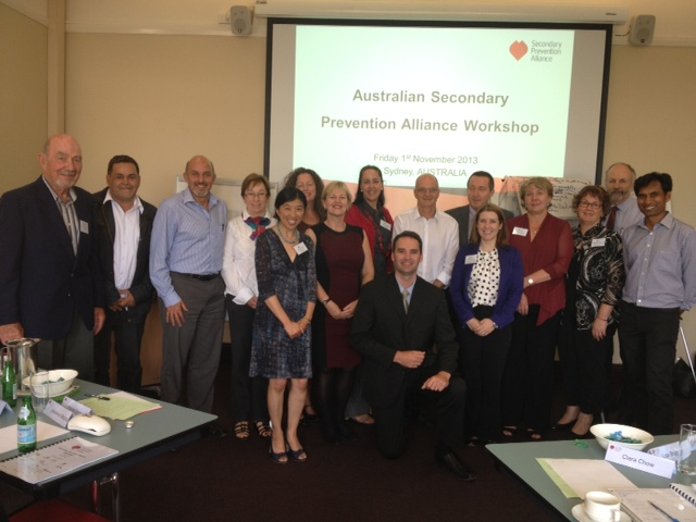 Secondary Prevention Alliance Strategic workshop Nov 2013